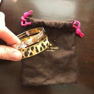 Set of 2 Kate spade bracelets